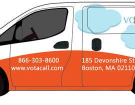 #5 for Design a vehicle wrap with graphics for our Votacall service vans! af saalexa