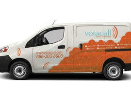#2 cho Design a vehicle wrap with graphics for our Votacall service vans! bởi yukaa