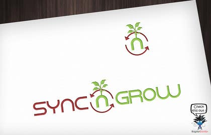 #23 for Design Logo & Favicon For Sync n Grow.com Website af BDamian