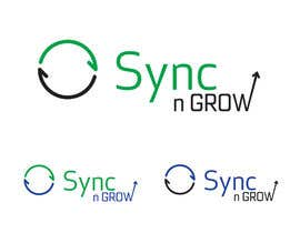#18 for Design Logo & Favicon For Sync n Grow.com Website af Al3x3yi