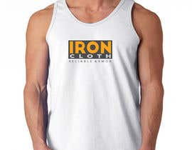 #103 untuk Tank Top design for Iron Cloth oleh Salmang