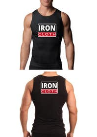 #117 untuk Tank Top design for Iron Cloth oleh murtalawork