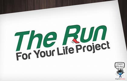 #21 untuk Design a Logo for The Run For Your Life Project oleh BDamian