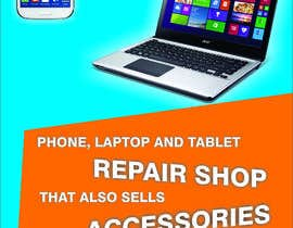 #7 untuk Design a poster for Phone repair Shop oleh arunkoshti
