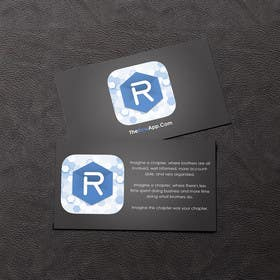 rzr9 tarafından Design some Business Cards for App için no 26