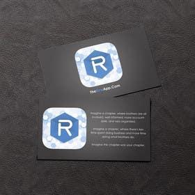 #26 untuk Design some Business Cards for App oleh rzr9