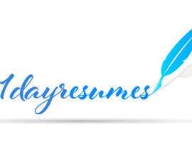 """#26 untuk Design a Logo for """"1dayresumes.com"""" oleh vishavbhushan"""
