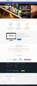 #27 untuk Design a Website Mockup for an online marketing agency oleh kreativeminds
