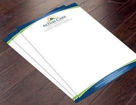 #23 for Create a word template letterhead by smshahinhossen