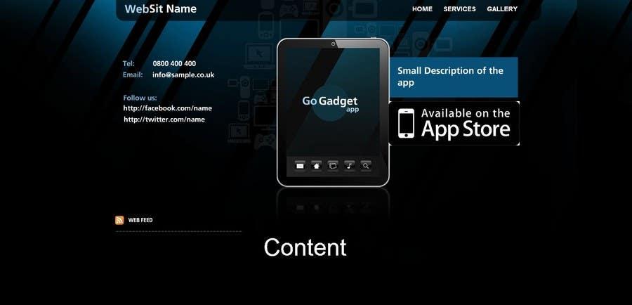 Inscrição nº                                         3                                      do Concurso para                                         Build a Website for a new App