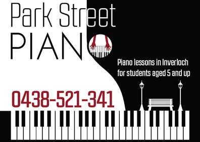 #156 untuk Design a Logo for a Piano Teacher oleh fisekovic