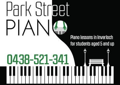 #163 untuk Design a Logo for a Piano Teacher oleh fisekovic