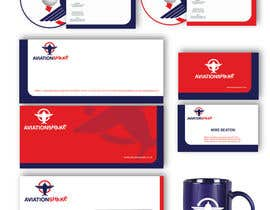 #106 para Develop an Identity (logo, font, style, website mockup) for AviationShake por alexandracol