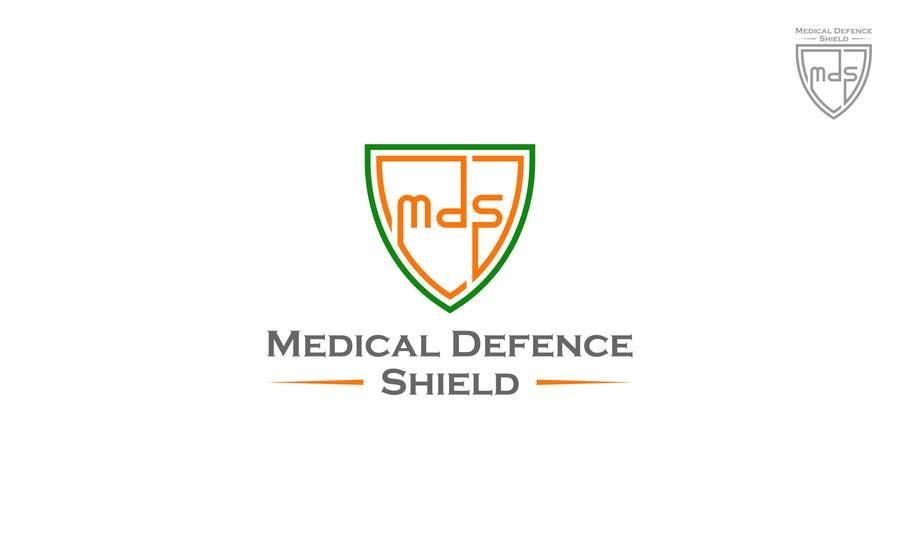 Inscrição nº                                         184                                      do Concurso para                                         Design a new Flat Logo for Medical Defence organisation