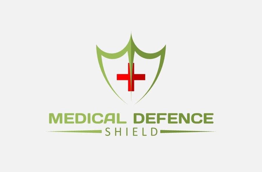 Inscrição nº                                         156                                      do Concurso para                                         Design a new Flat Logo for Medical Defence organisation