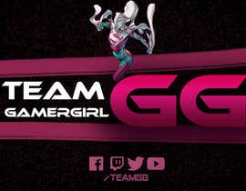croMLiht799 tarafından Design a Logo and a Banner for the Website of a Gamer Girl Model Agency için no 18