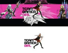 JennyJazzy tarafından Design a Logo and a Banner for the Website of a Gamer Girl Model Agency için no 27