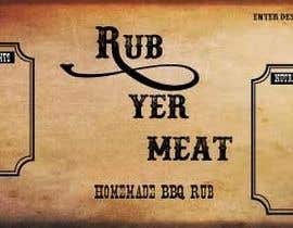 #11 untuk Create Print and Packaging Designs for BBQ Rub Labels oleh shanonfischer