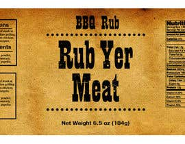 #25 for Create Print and Packaging Designs for BBQ Rub Labels by Christina850