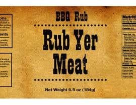 #25 cho Create Print and Packaging Designs for BBQ Rub Labels bởi Christina850