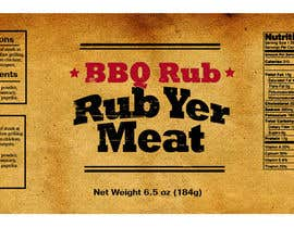 #27 untuk Create Print and Packaging Designs for BBQ Rub Labels oleh Christina850
