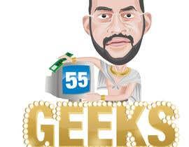 nº 6 pour 55 Geeks logo design par geniedesignssl