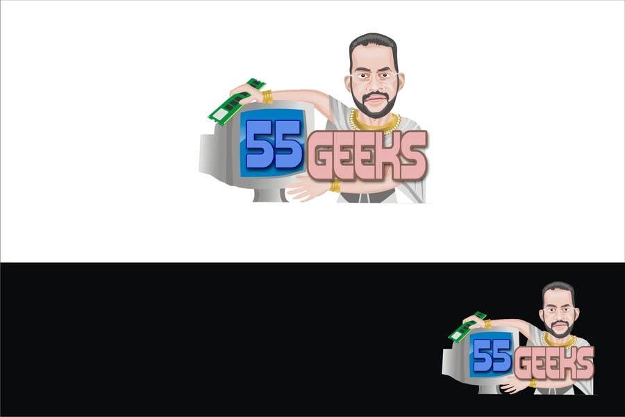 Proposition n°35 du concours 55 Geeks logo design