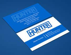 #53 for Design some Business Cards for hunter mechanical by ALLHAJJ17