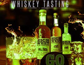 #33 cho Design a Flyer for High West Whiskey Tasting bởi sumantechnosys