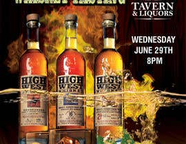#28 cho Design a Flyer for High West Whiskey Tasting bởi gkhaus