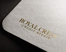#51 untuk Design a Logo for ROYAL CREST CREDIT REPAIR oleh velimirprostran