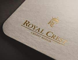 #46 untuk Design a Logo for ROYAL CREST CREDIT REPAIR oleh webexpo