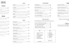 #14 for Edit Restaurant Menu af bridgetgrill
