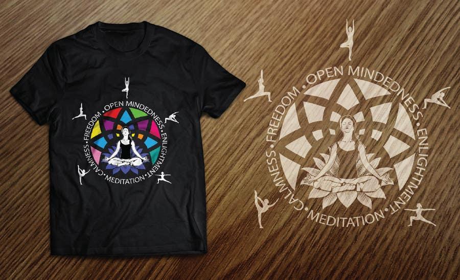 Bài tham dự cuộc thi #9 cho Design a T-Shirt related to the Keywords: Meditation, Calmness, Freedom, Open Mindedness