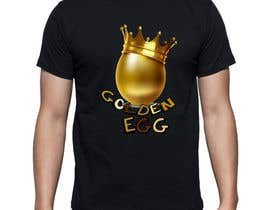 #18 untuk Design a T-Shirt for golden egg oleh marijakalina