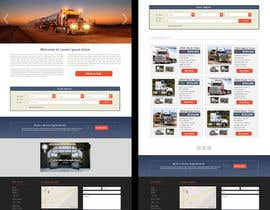#25 untuk Design a Website Mockup for A Vehicle Dealership oleh draphal