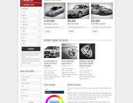 #12 for Design a Website Mockup for A Vehicle Dealership af jatinkathuria