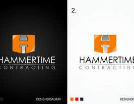 #29 para Design a Logo for Hammertime Contracting por sauravsingh