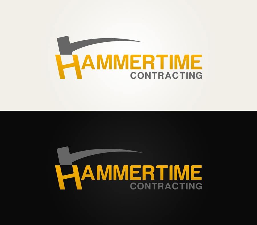 Inscrição nº 27 do Concurso para Design a Logo for Hammertime Contracting