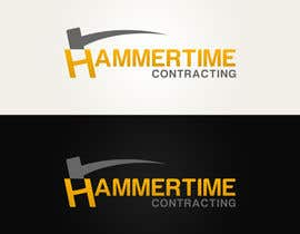 #27 para Design a Logo for Hammertime Contracting por CGSaba
