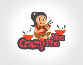 #28 untuk Design a Logo for Crazy Pho You oleh gautamrathore
