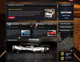 #34 untuk Design a Website for Car Racing Team oleh webmastersud