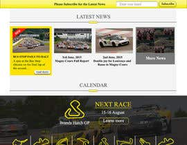 #25 untuk Design a Website for Car Racing Team oleh dkshaw39