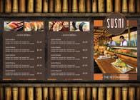 I need some Graphic Design for high end Japanese Restaurant Menu için Graphic Design5 No.lu Yarışma Girdisi
