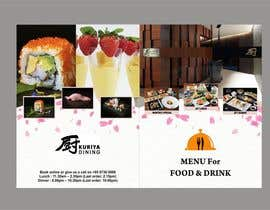 #8 cho I need some Graphic Design for high end Japanese Restaurant Menu bởi Shrey0017