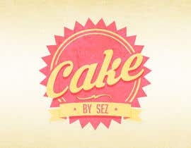 #70 for Design a Logo for Cake by Sez by lautarodebasto