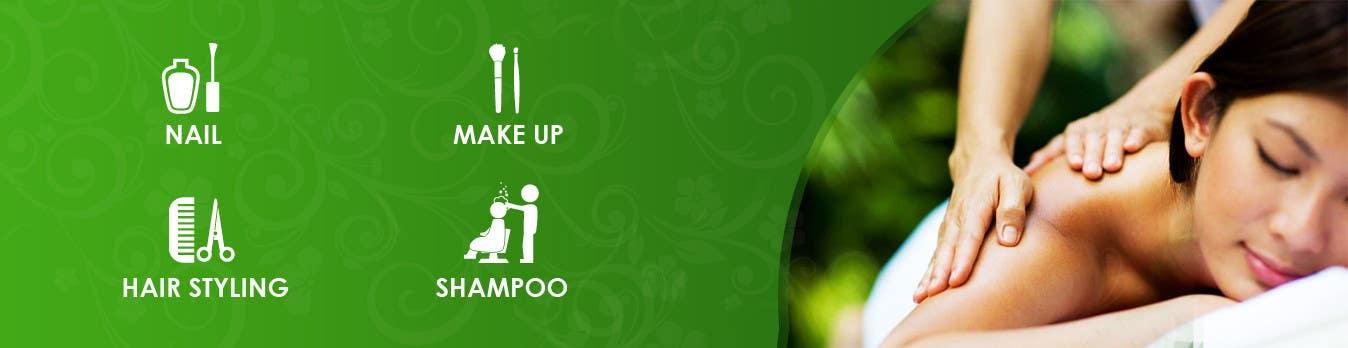 Penyertaan Peraduan #9 untuk Design 4 banners for a beauty spa.