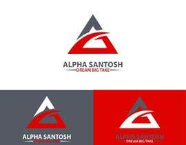 aliesgraphics40 tarafından Design a Logo for Alpha Santosh youtube channel için no 35