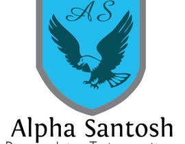 #49 for Design a Logo for Alpha Santosh youtube channel by harry321vw