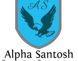 #49 for Design a Logo for Alpha Santosh youtube channel af harry321vw
